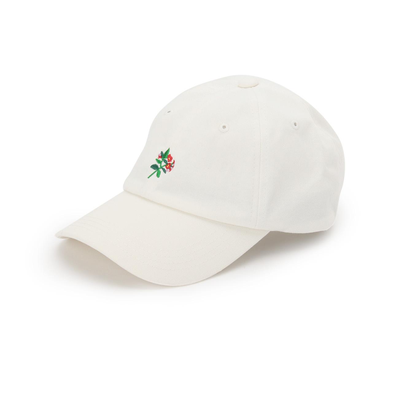 【OZOC (オゾック)】Wベルトキャップレディース 帽子|キャップ オフホワイト