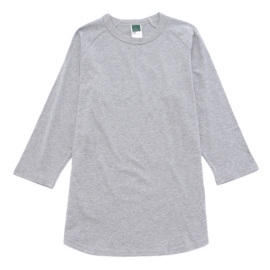 <ワールド> inner light raglan 3/4 t shirt画像