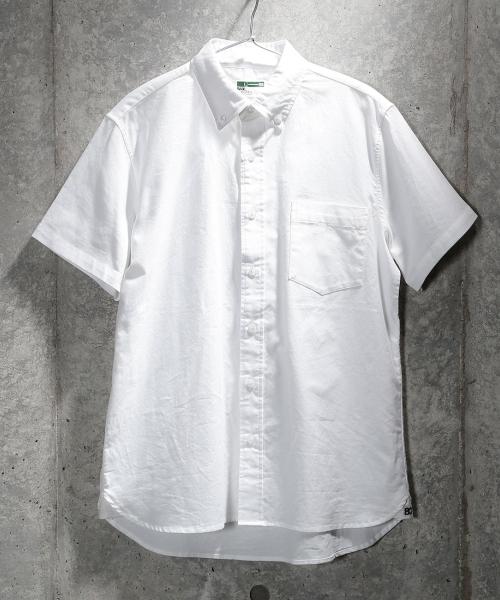ベーシックオックス半袖シャツ