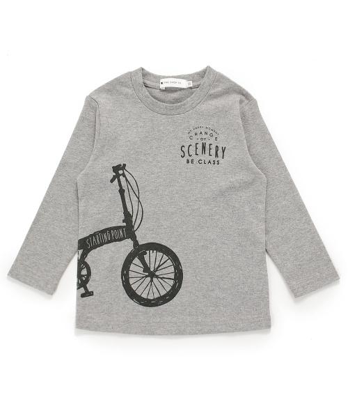 自転車プリントスムースロンT