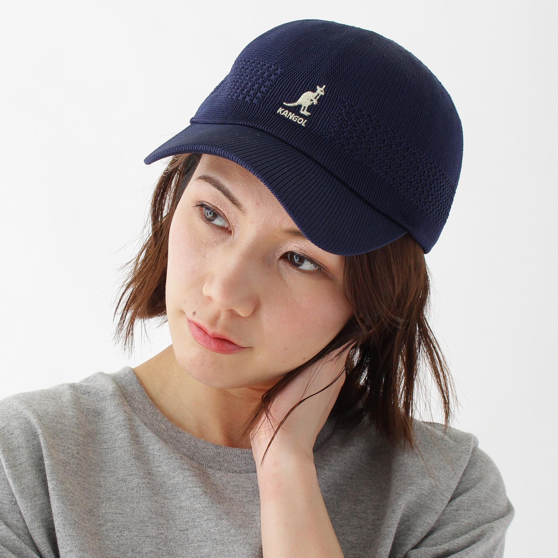 【BASECONTROL LADYS (ベース コントロール レディス)】【WEB限定】KANGOL/カンゴール スペースキャップレディース 帽子|キャップ ネイビー