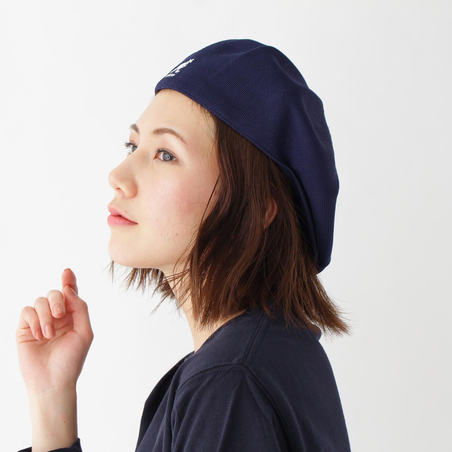 【BASECONTROL LADYS (ベース コントロール レディス)】【WEB限定】KANGOL/カンゴール Galaxy ハンチングレディース 帽子|ハンチング・ベレー帽 ネイビー