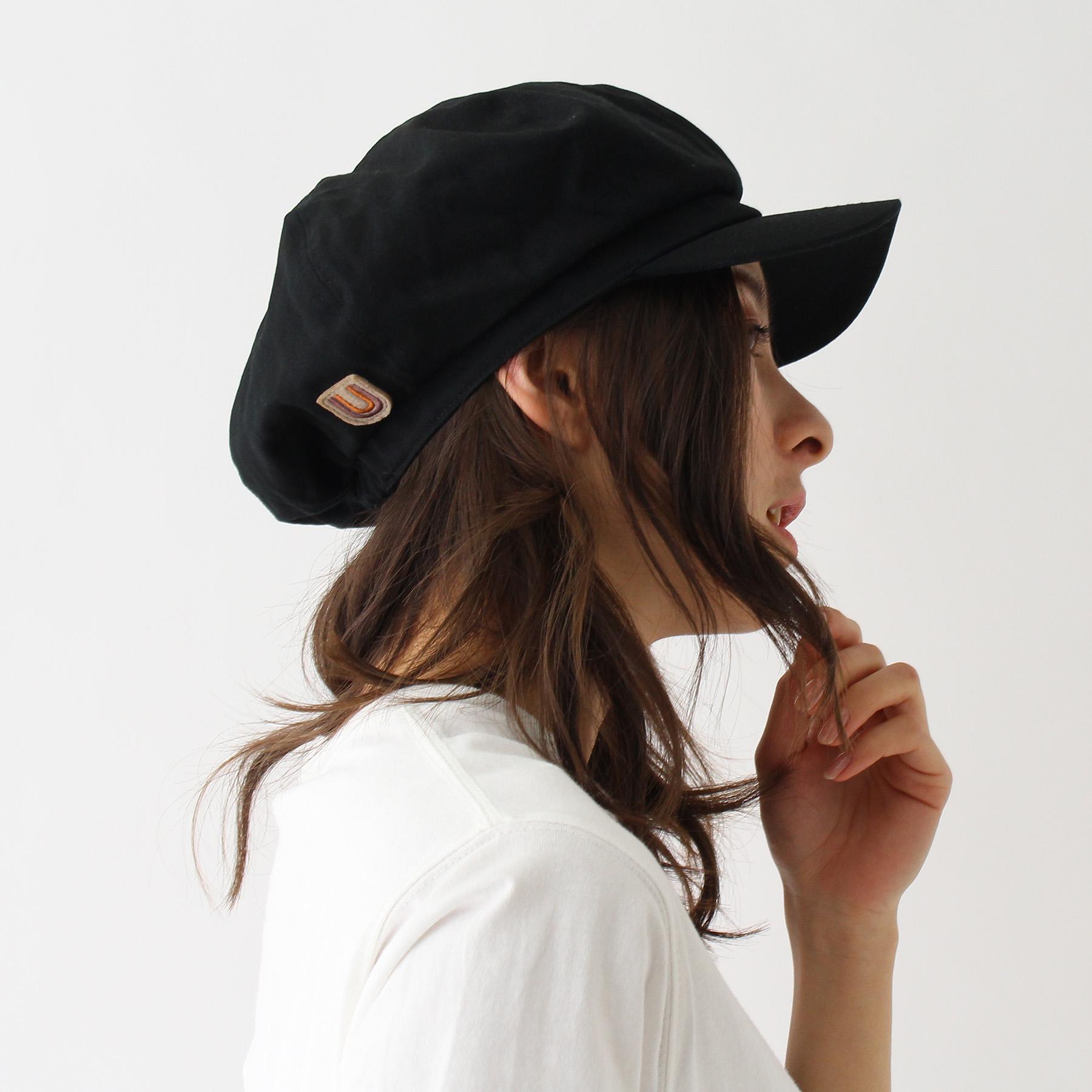 【BASECONTROL LADYS (ベース コントロール レディス)】UNIVERSALOVERALL/ユニバーサルオーバーオール キャスケットレディース 帽子 キャスケット ブラック