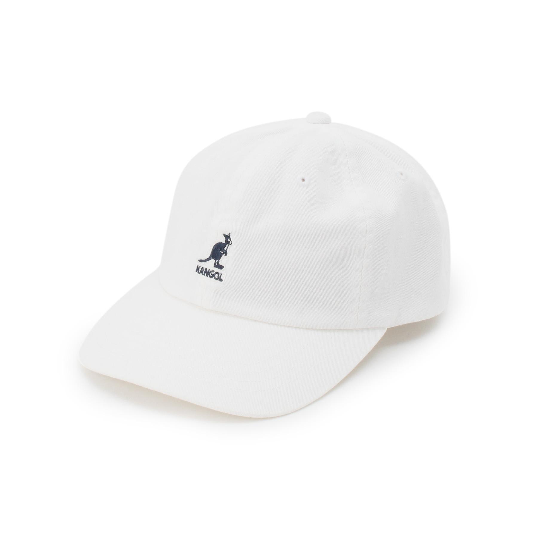 【BASECONTROL (ベース コントロール)】【WEB限定】KANGOL/カンゴール ローキャップメンズ 帽子 キャップ アイボリー