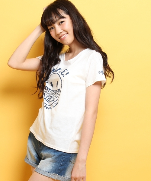 Neon Soda ロゴスマイルTシャツ