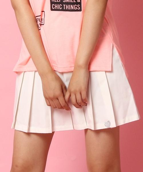 ツイルプリーツスカート