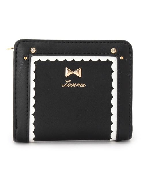 フリルミニ財布