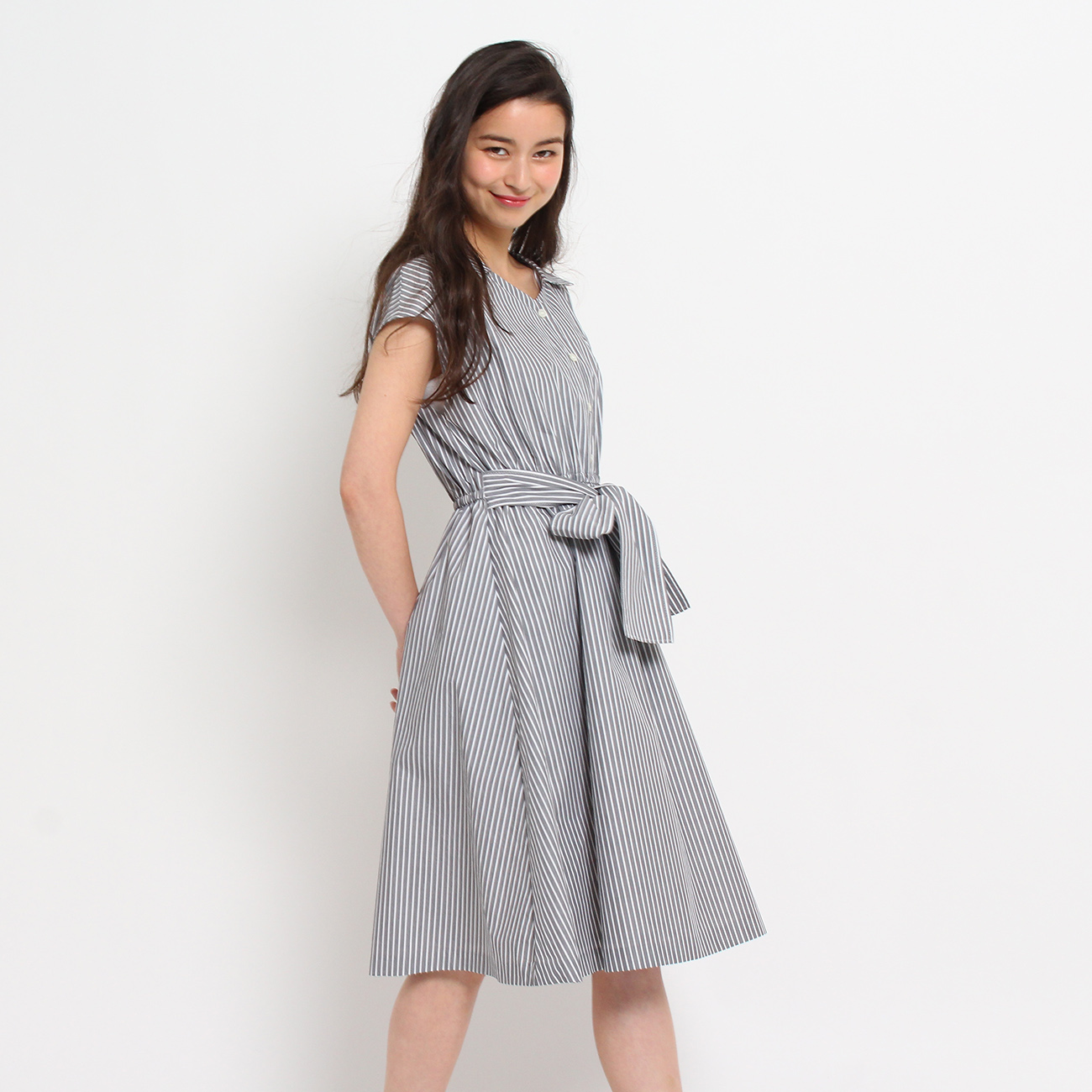 【Couture brooch (クチュールブローチ)】2WAYリボンワンピースレディース ワンピース|ワンピース ブラック