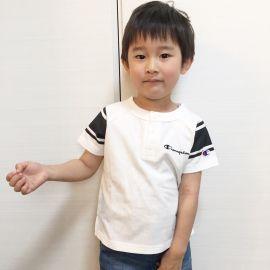 【別注】チャンピオンヘンリーTシャツ