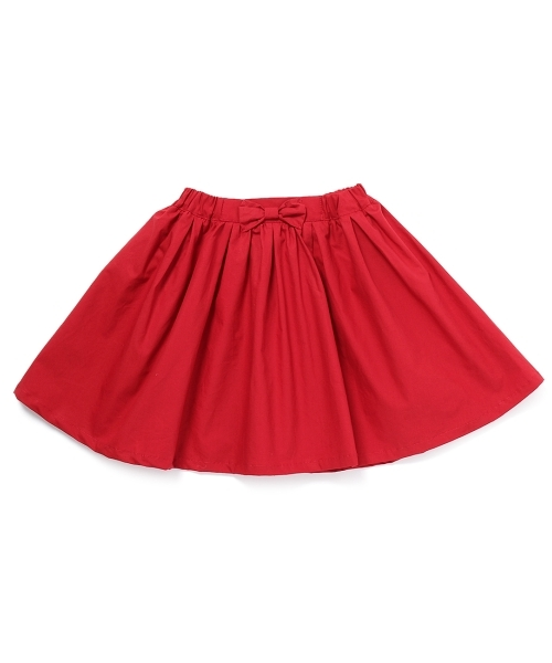 リボン付きボリュームスカート