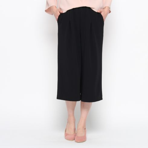 【smart pink (スマートピンク)】ミリオーネジャージパンツレディース パンツ 6~9分丈パンツ ブラック
