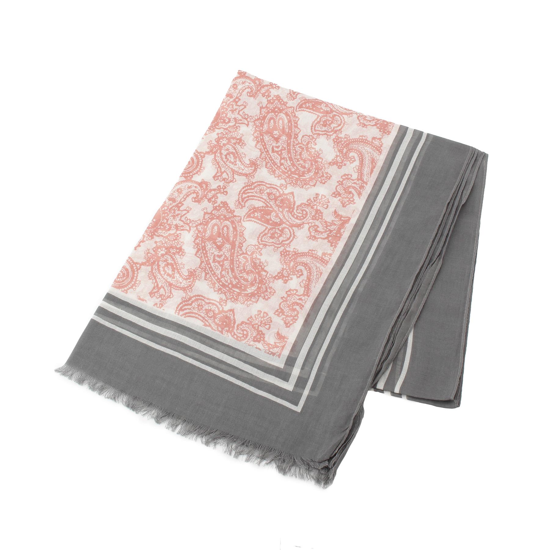 【smart pink (スマートピンク)】ペルピアンペイズリーストールレディース 雑貨|マフラー・ストール ベビーピンク