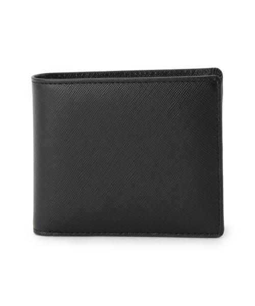 レザー2つ折財布
