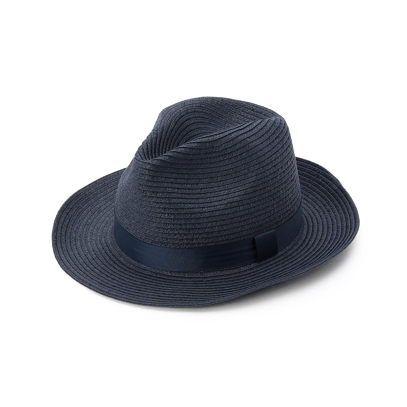 【THE SHOP TK(Men) (ザ ショップ ティーケー(メンズ))】ペーパー中折れハットメンズ 帽子|ハット ネイビー