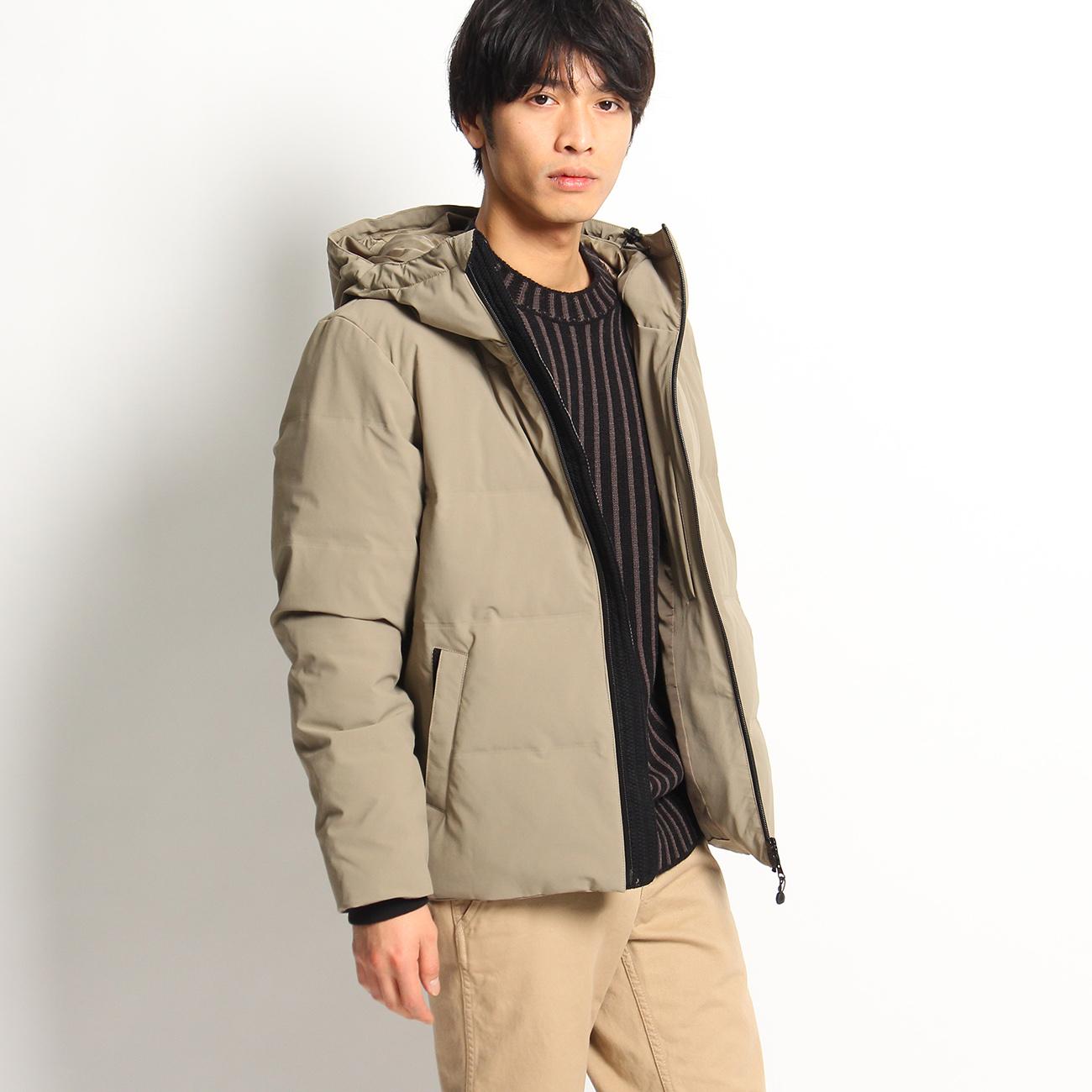 THE SHOP TK(Men) (ザ ショップ ティーケー(メンズ)) 【撥水・防風】シームレスダウンジャケット