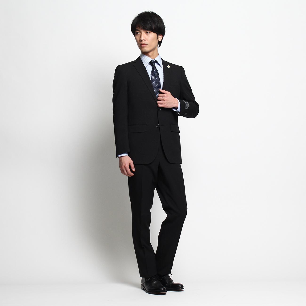 THE SHOP TK(Men) (ザ ショップ ティーケー(メンズ)) マシンウォッシャブル無地スーツ