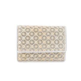 <WORLD> ミニ三つ折財布