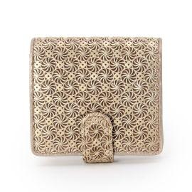 <ワールド> GIRASOLE(ジラソーレ)薄型二つ折り財布