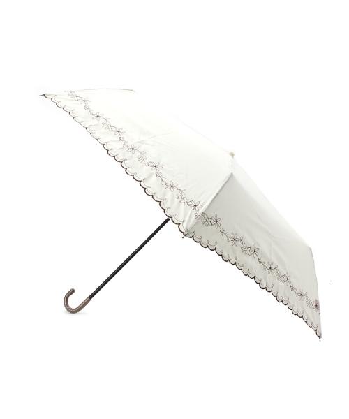 フラワー刺繍パラソルミニ傘