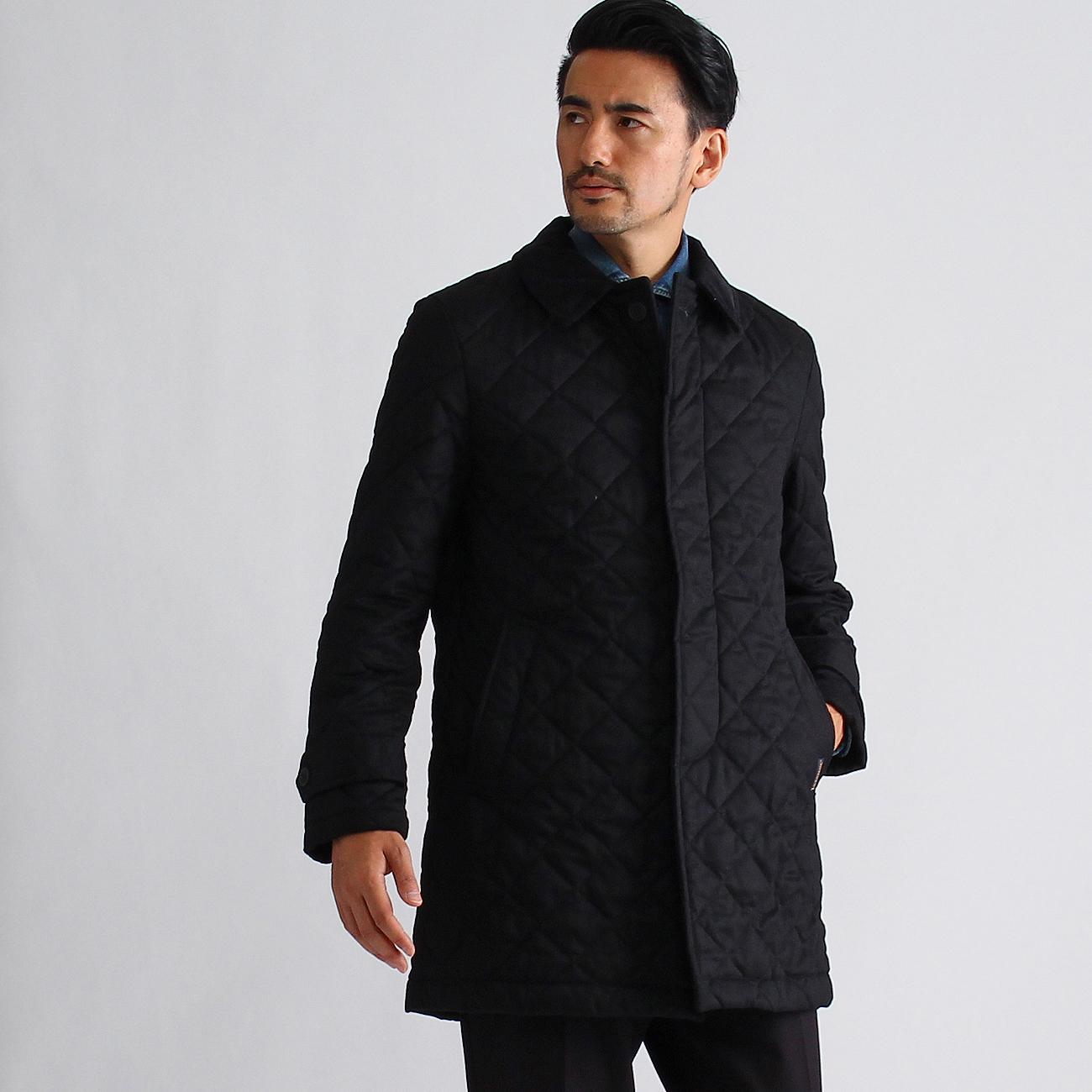 【TAKEO KIKUCHI (タケオキクチ)】LAVENHAM(EUSTON)ブルゾンメンズ ジャケット|その他ジャケット ブラック