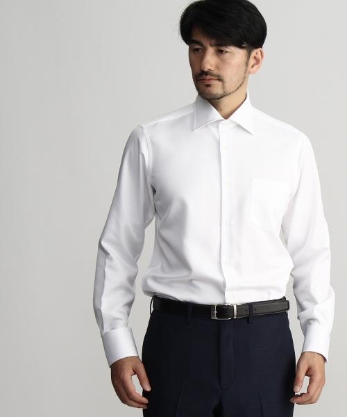 カルゼスーパードライワイドカラーシャツ