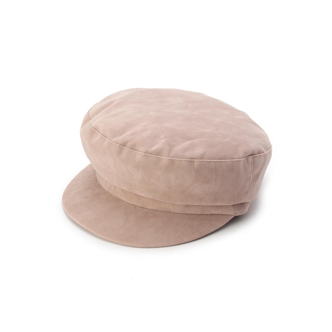 【OPAQUE.CLIP (オペークドットクリップ)】フロッキーマリンキャップレディース 帽子 キャップ ベビーピンク