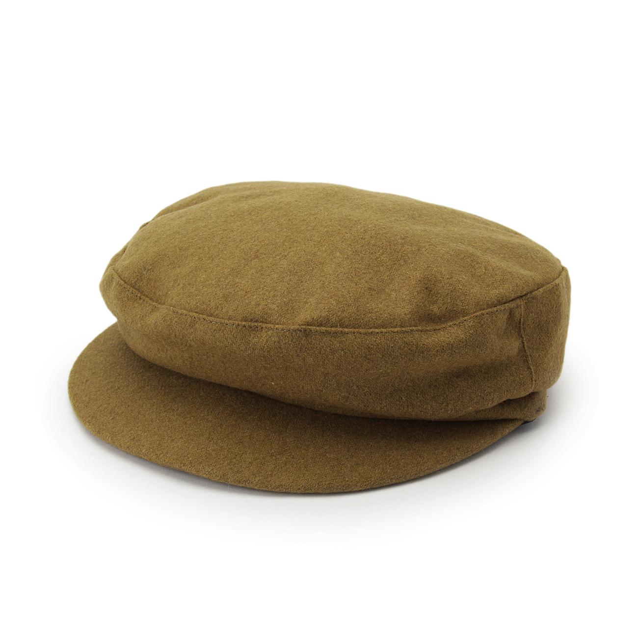 【OPAQUE.CLIP (オペークドットクリップ)】フラノキャスケットレディース 帽子 キャスケット キャメル
