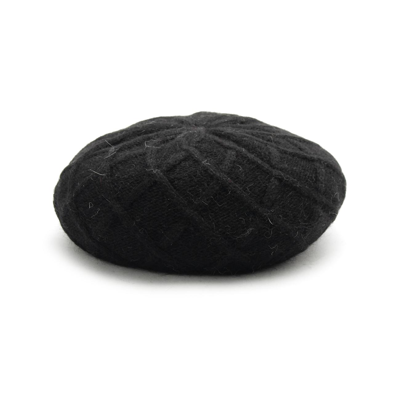 【OPAQUE.CLIP (オペークドットクリップ)】ダイヤベレー帽レディース 帽子 ハンチング・ベレー帽 ブラック