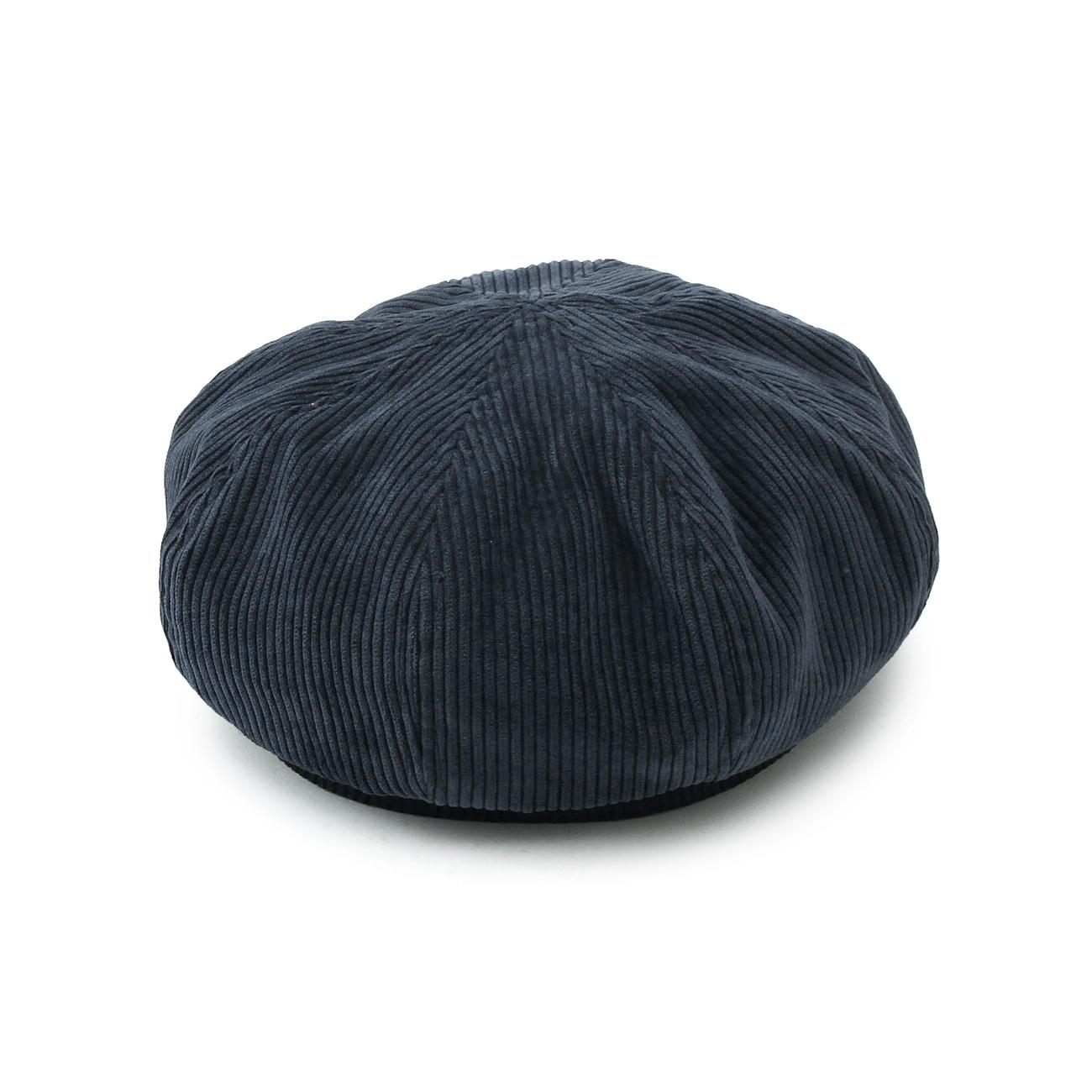 【OPAQUE.CLIP (オペークドットクリップ)】コーデュロイベレー帽レディース 帽子 ハンチング・ベレー帽 ネイビー