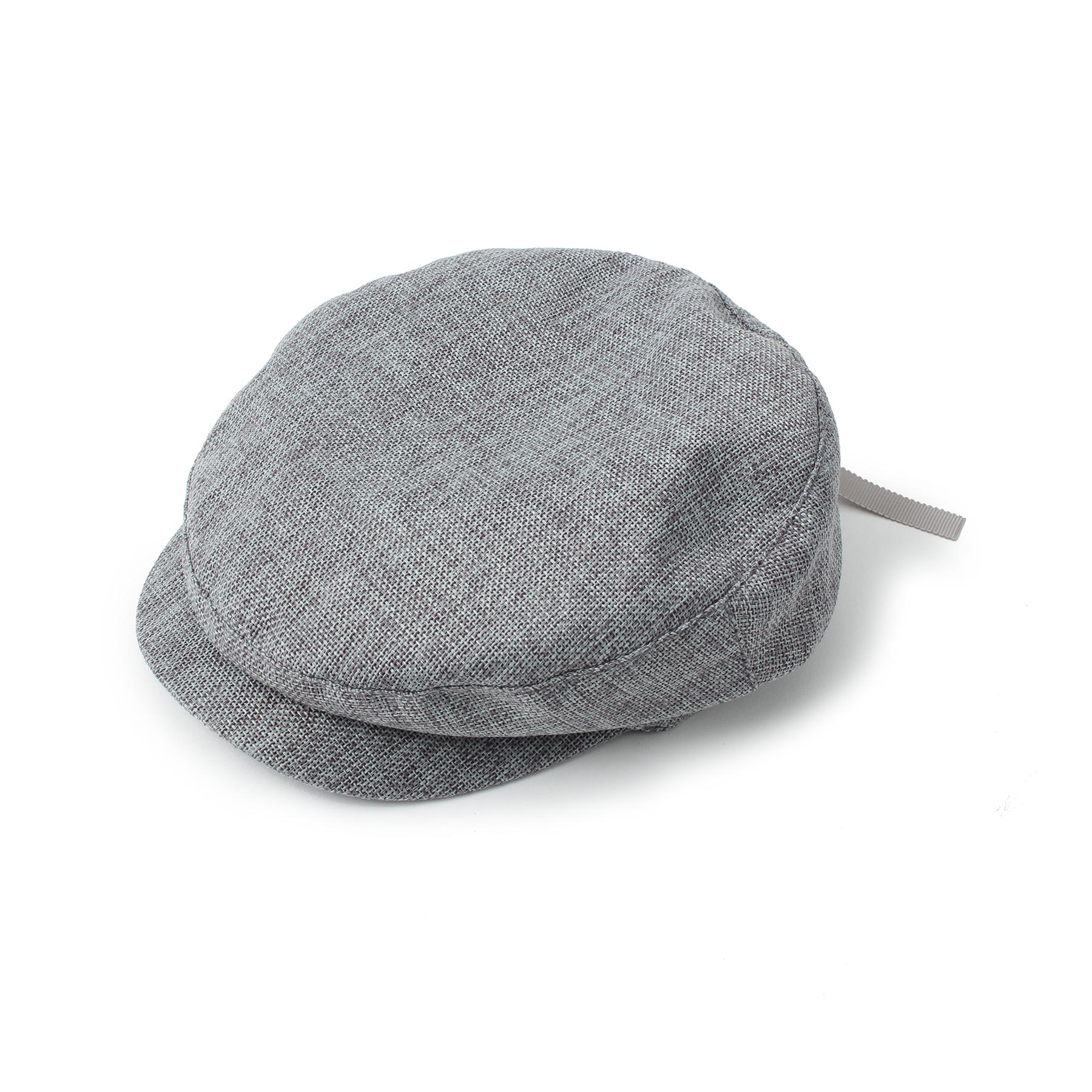 【OPAQUE.CLIP (オペークドットクリップ)】バックリボンキャスケットレディース 帽子 キャスケット グレー