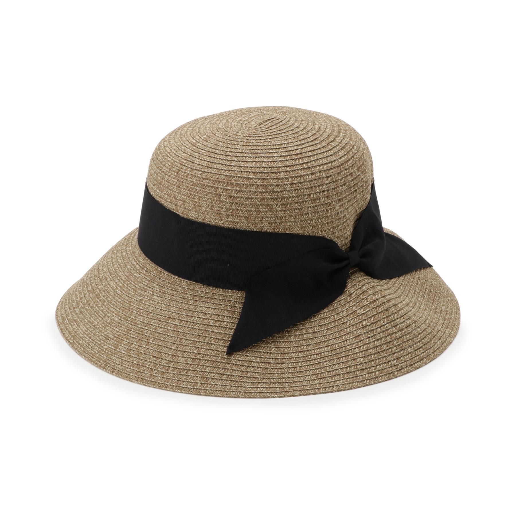 【OPAQUE.CLIP (オペークドットクリップ)】ポケッタブルキャペリンレディース 帽子 ハット カーキ