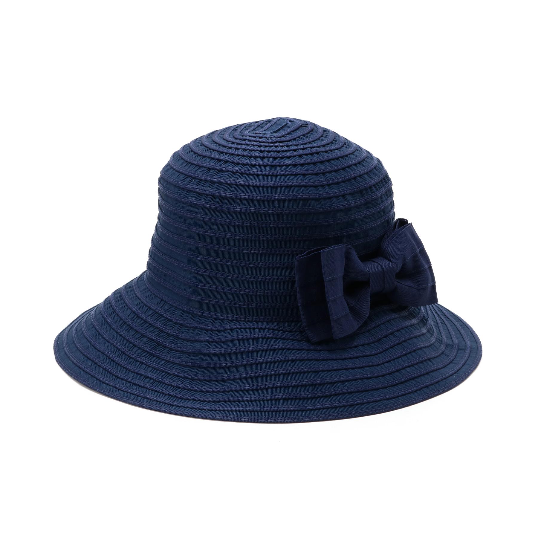 【OPAQUE.CLIP (オペークドットクリップ)】ベーシックポケッタブルハットレディース 帽子 ハット ネイビー