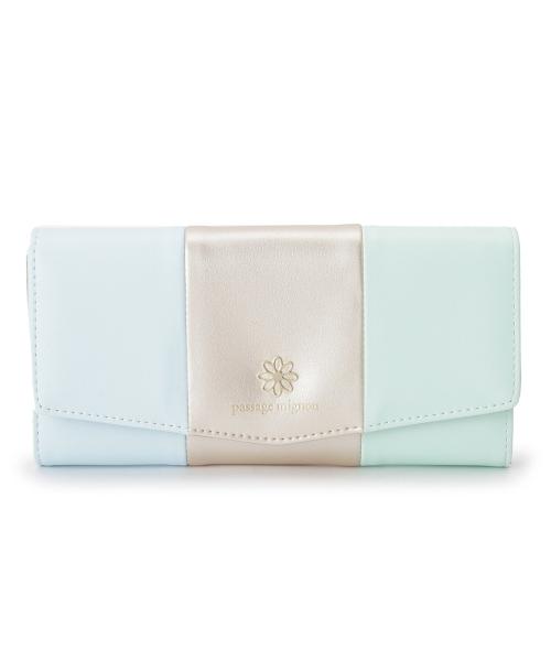 3色ミックス長財布