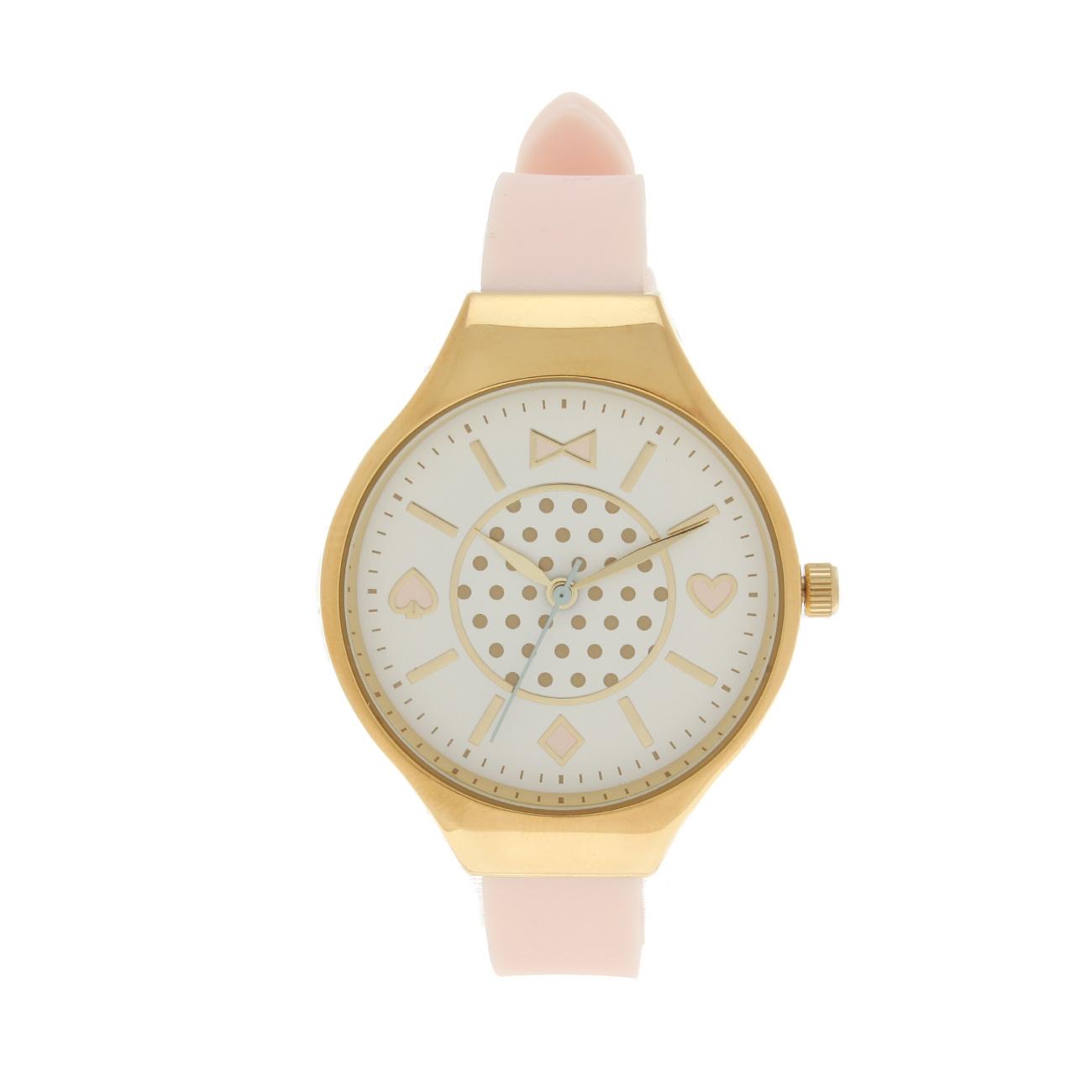 【passage mignon (パサージュ ミニョン)】メタルフレームウォッチレディース 雑貨|腕時計 ピンク系