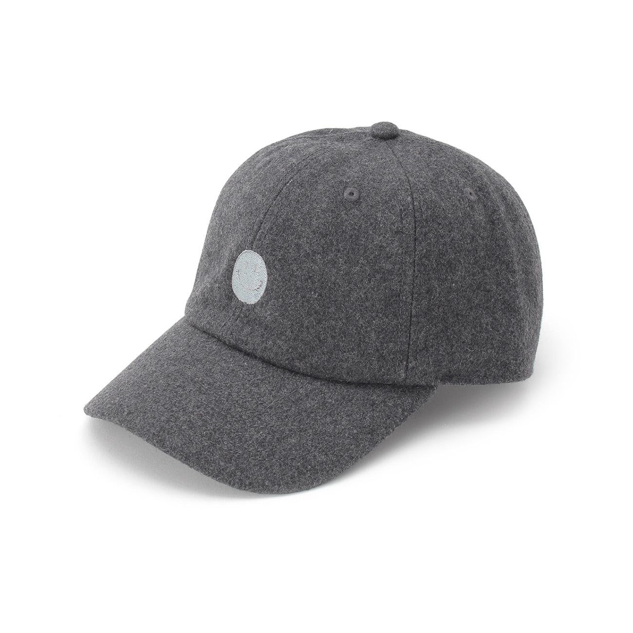 【OPAQUE.CLIP (オペークドットクリップ)】JACKSON MATISSE ウールブレンドキャップレディース 帽子|キャップ チャコールグレー