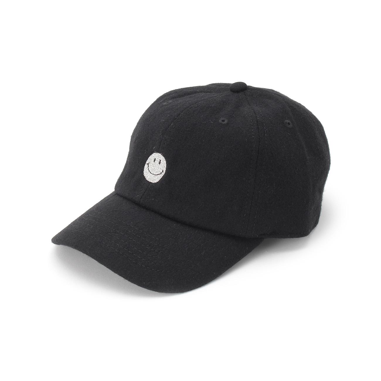 【OPAQUE.CLIP (オペークドットクリップ)】JACKSON MATISSE ウールブレンドキャップレディース 帽子|キャップ ブラック