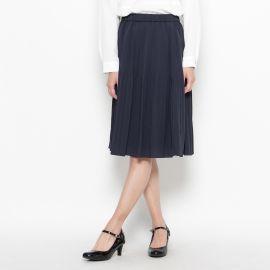 <WORLD> ジョーゼットプリーツスカート