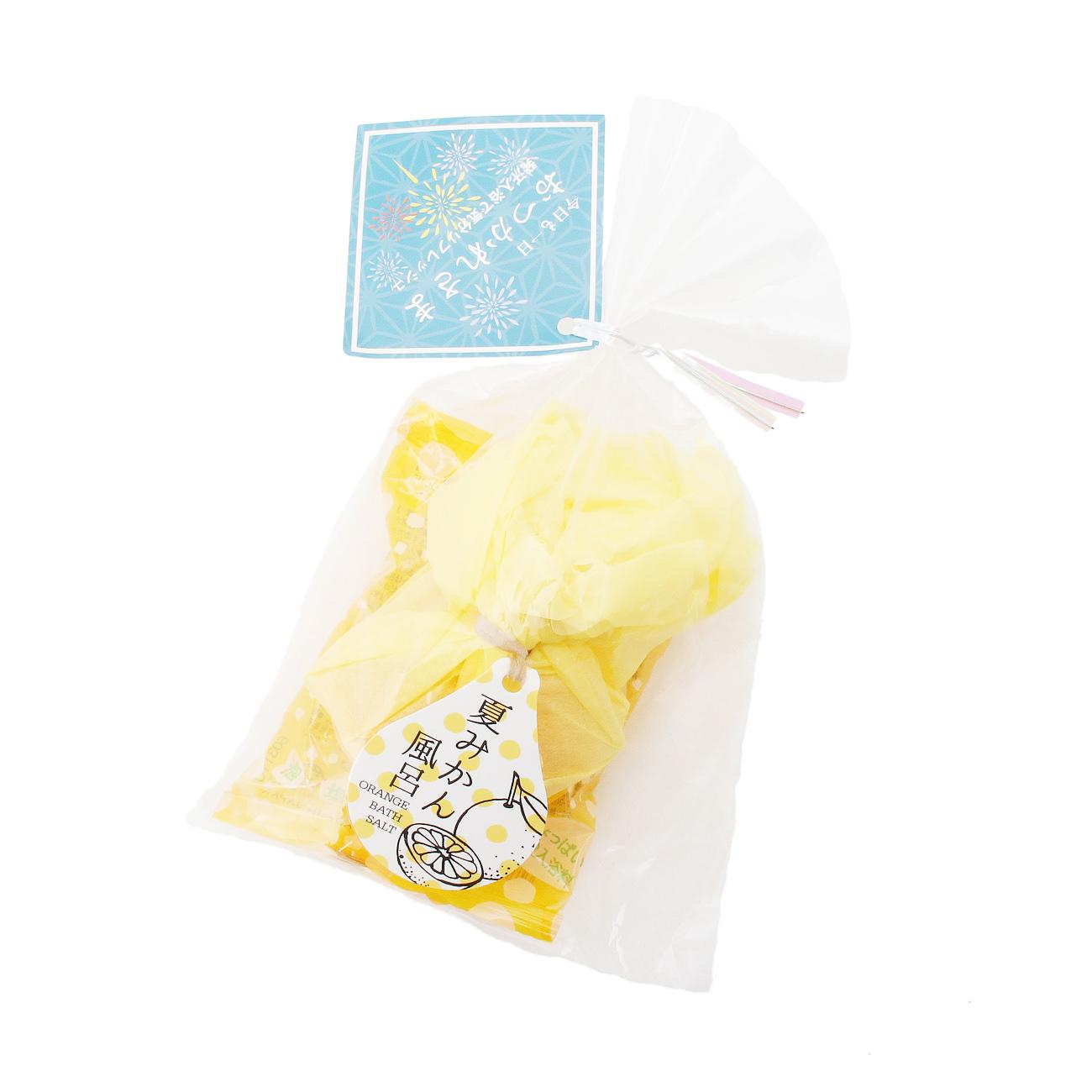 【grove (グローブ)】おまつりプチギフト入浴剤レディース ビューティー・コスメ|ボディケア レモンイエロー