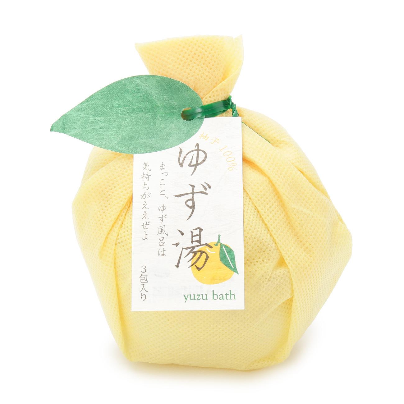 【grove (グローブ)】ゆず湯3包セットレディース ビューティー・コスメ|ボディケア イエロー