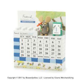 <WORLD> ブロック式万年カレンダー(フレデリック)